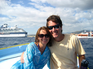 DJ and Cheri at Lands End on Boat