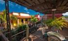 The upper sitting area at our mexico Eco Resort La Posada del Rio Sonora