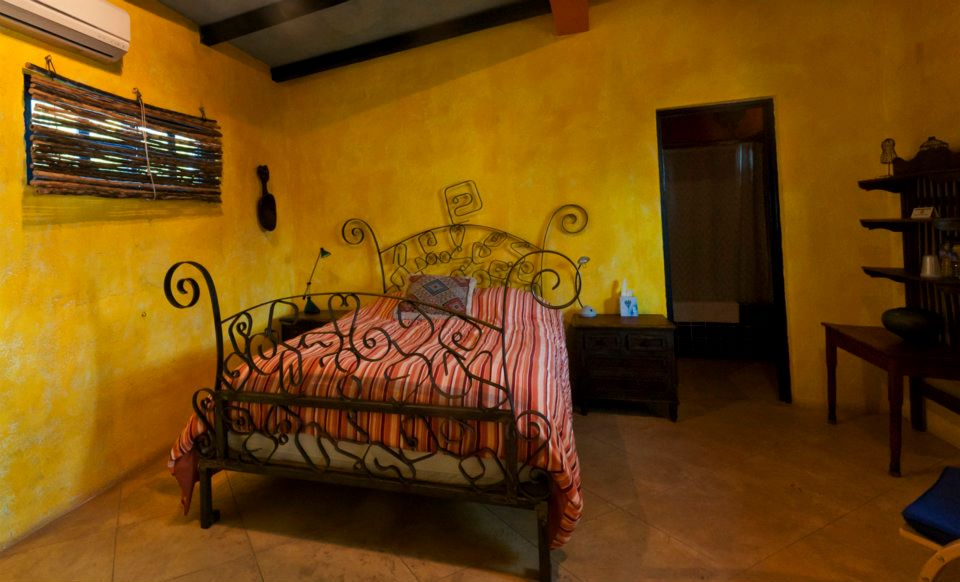Relaxing Queen room in an American Owned and Operated Mexican Inn located in Banamichi